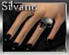 !S!Pvc Nails+Skull rings