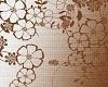 Brown Flower Wallpaper