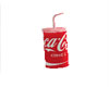Coke in Cup with straw