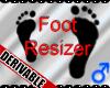 *M*DER- Foot Feet Scaler