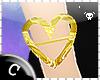 .C Heart o Gold Bracelet