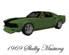 ~CA~Green Mustang