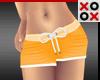Baby Shorts Orange