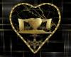 Elegant Wall Heart Cuddl
