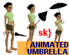 sk} Animated umbrella