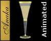 Crystal Goblet Gold