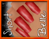 ~{nails} Scarlet sml sht