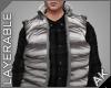 ~AK~ Ski Vest: Gray