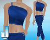 Blue Meditation Suit