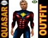 Quasar Outfit SuperHero