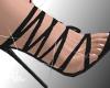 Abi| Black Sandals&spark
