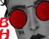 [BH]Vampire Red Glasses