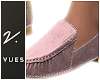 v. Suede Loafers P
