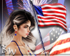 Left USA Flag |F-M|
