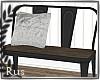 Rus:Comfort dining bench