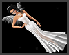 SL Angel Gown+Wings Der.