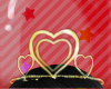 Heart Tiara v2 Gold