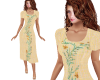 TF* Modest Yellow Dress