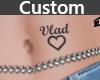Tattoo Vlad Heart {Cust}