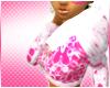 Pink Splatter Hoody