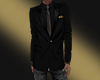 ~S~Gold/Blck Suit Jacket