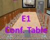 E1 Conf. Table