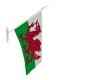 wales wall mount flag