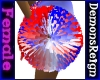Red/White/Blue Pom Poms