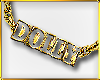 C|Dolly Gold Necklace