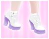 SK| Purple/White Shoes
