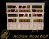 Winter Bookcase