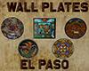 [M] EL PASO Wall Plates