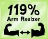 Arm Scaler 119%