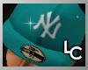 !LC™ NY Cap Aqua