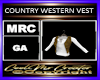 COUNTRY WESTERN VEST