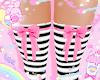 striped bow socks! ♡