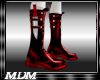 (M)~Blade Boots Red
