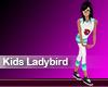 (M) Kids Ladybird Blue