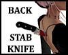 Back Stabbed Knife