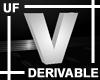 UF Derivable Letter V