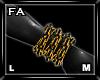 (FA)WristChainsOLML Gold