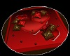 Love Nest Pillow Rug Red