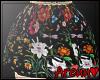 ₳/ Floral Miniskirt