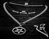 =Pentagram Necklace=