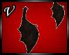 [V] Batwings earrings