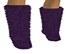 ~N~ Plum Fur Boots