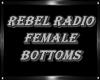 ReBeL RADIO Fem Shorts