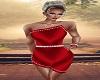 Red Diamond Dress