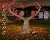 Autumn Heart Tree/Pose
