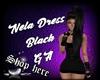 Nela Dress Black GA